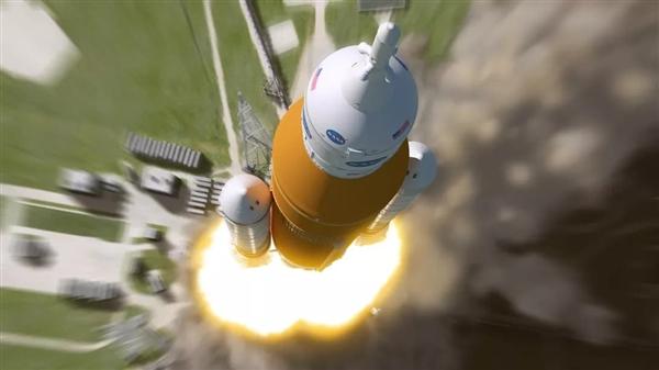 美国重启登月!新一代重型火箭SLS和航天器组装完毕:瞄准
