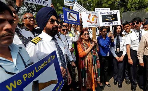SBI Nod寻求雇员团体竞标Jet Airways管理控制