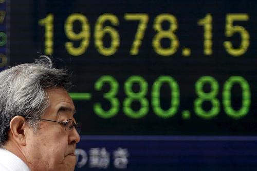 随着美中贸易紧张局势持续亚洲股市走高