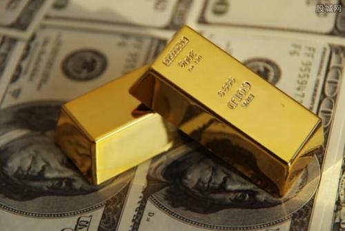 由于美元走强黄金价格跌至两周多以来的低点