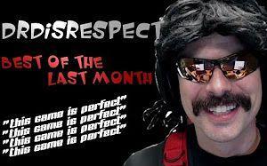 Disrespect博士在禁赛两周后回到了Twitch