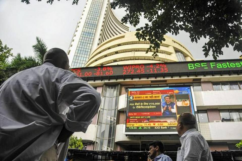 印度股票基准BSE Sensex和NSE Nifty在周五持续的外国资金流出