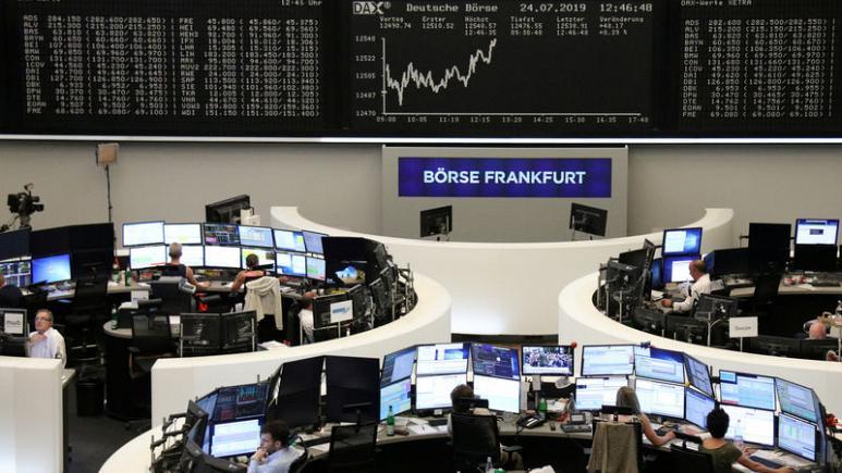 在美联储令人失望之后欧洲股市下跌 壳牌下挫