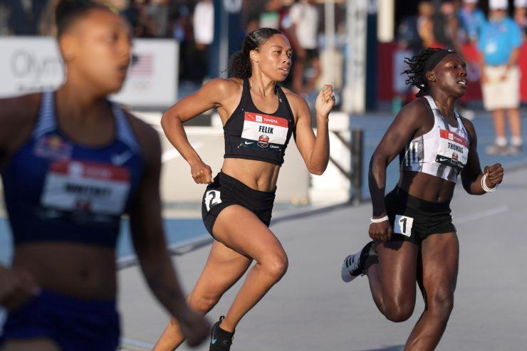 零售 Gap的Athleta品牌登陆其首位赞助运动员 奥运会赛道冠军Allyson Felix