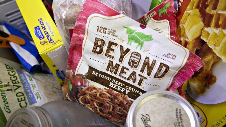 Beyond Meat的股票短暂跌破二级发行价