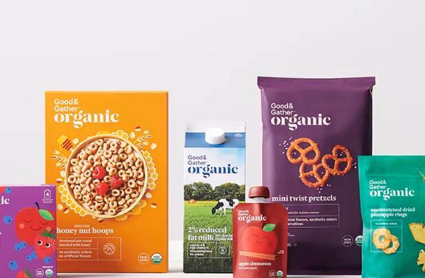 Target的新食品品牌听起来像健康人格化