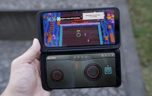 LG的G8X双屏幕是可折叠手机的改进 更实用的版本