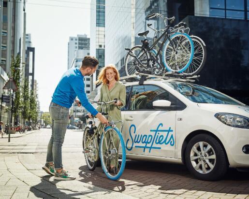 受欢迎的荷兰自行车创业公司Swapfiets推出了商务自行车订阅
