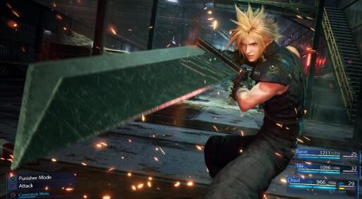 最终幻想VII重拍将包括一个经典游戏模式