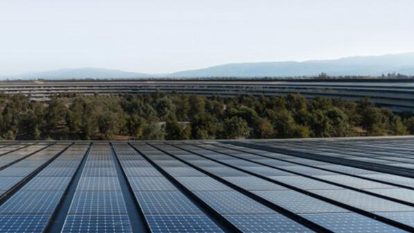 苹果鼓励供应商通过新的投资项目转向绿色能源