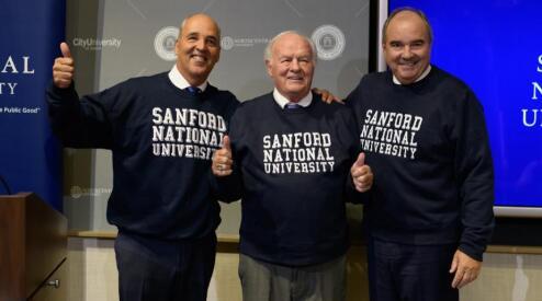 丹尼·桑福德向国立大学捐赠3.5亿美元以纪念他的名字更名