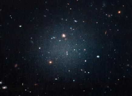有争议的暗物质免费银河通过了最困难的测试