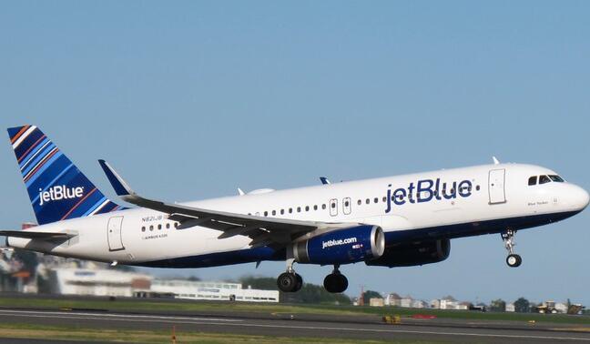 捷蓝航空准备进行更多的股票回购