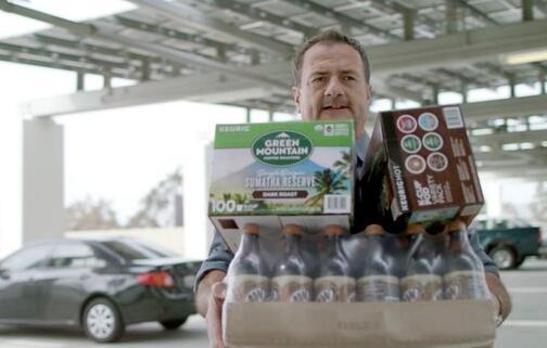 Keurig Dr Pepper骑乘咖啡和苏打水销量提高