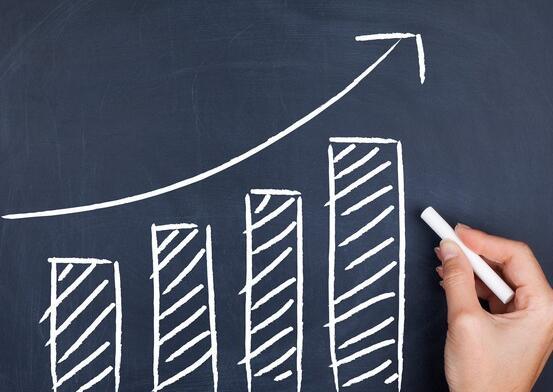 2股有吸引力的股利随着新股利的增加而增加