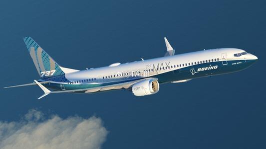 美国航空将波音737 Max的航班延期至4月