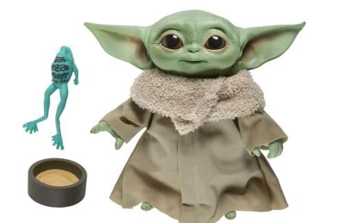 孩之宝宣布推出婴儿尤达系列玩具现在可以预订