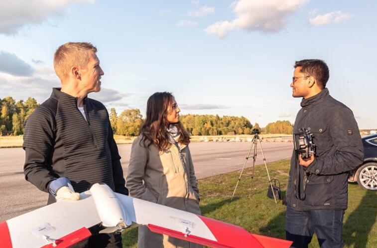 瑞典无人机公司赢得Iberdrola启动挑战