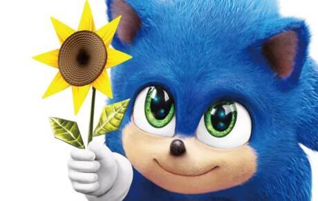 即将上映的刺猬索尼克电影展示了可爱的小宝贝索尼克