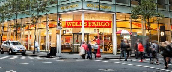 银行收益使富国银行走低 花旗银行走高