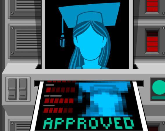 大学毕业后出现新的障碍 获得AI的批准