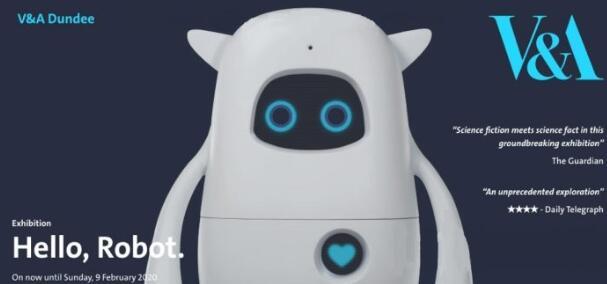AKA在V&A Dundee展出AI机器人Musio