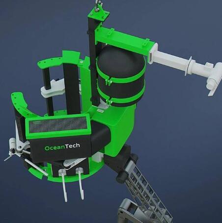飞溅区的海底机器人