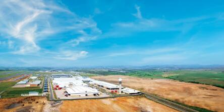 Dube TradePort世界一流的工业和商业区