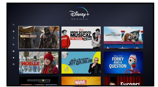 这是迪士尼+的2860万订户与Netflix比较的方式