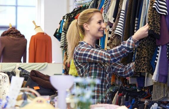 Gap与thredUp合作在最新的二手服装抢购中