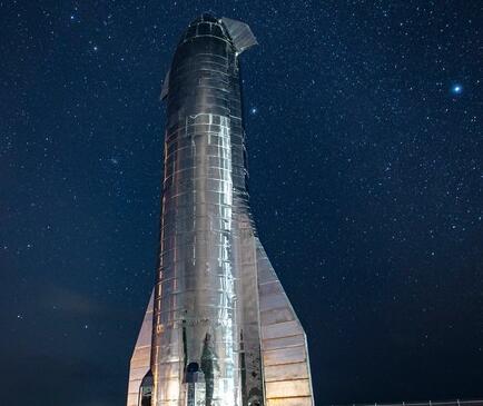 SpaceX Starship SN1在德州爆炸