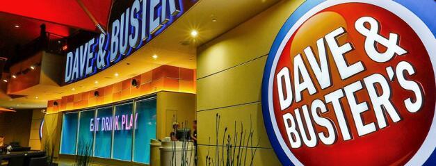 Dave&Buster的股票在2月下跌了25%
