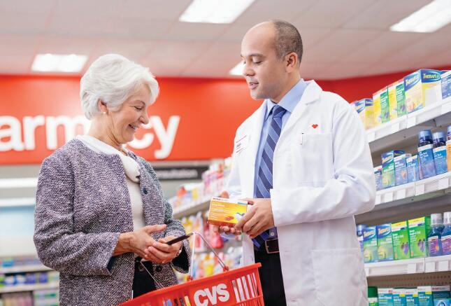 CVS接管杂货连锁店的药房