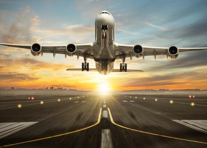 今天的航空股在攀升