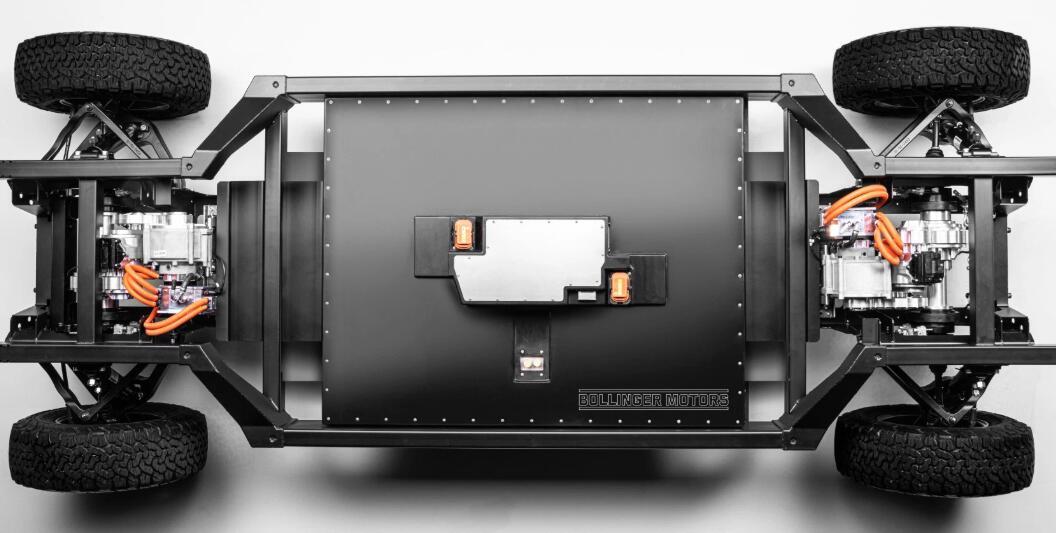 电动汽车初创企业Bollinger的新型底盘瞄准商业行业