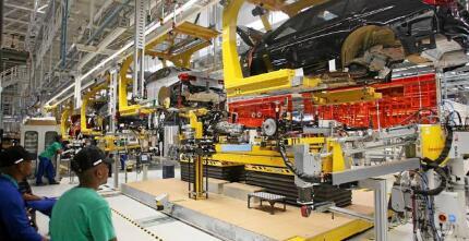 Naamsa说车轮保持SA汽车工厂的转弯