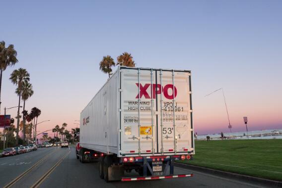 今天XPO Logistics的股票下跌 该股票在上个月下跌了一半