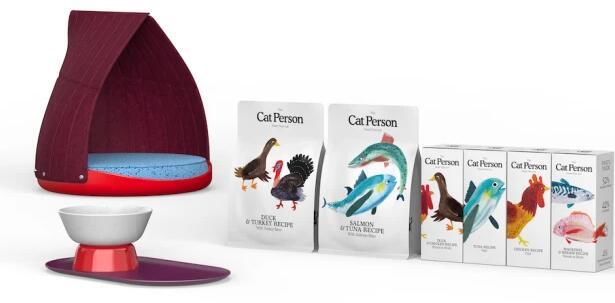 在Harry实验室的支持下 Cat Person推出了其猫护理产品系列