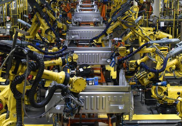 投资者注意到这家汽车制造商有足够的现金来度过停工期