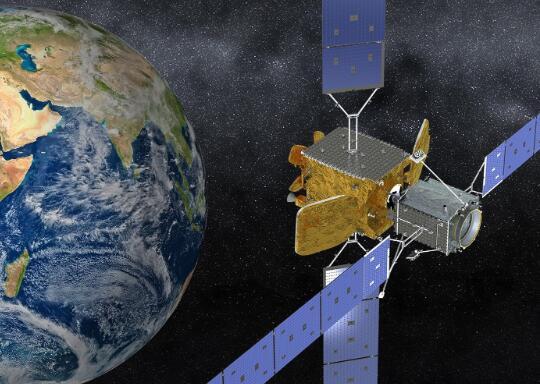 现在不要看但是诺斯罗普格鲁曼公司刚刚创造了一种新的太空业务