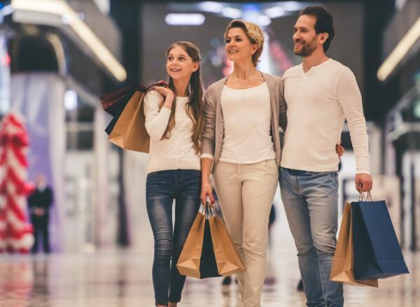 投资者似乎对购物中心相当乐观