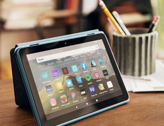 亚马逊希望通过负担得起的新型Fire HD 8赢得平板电脑市场份额