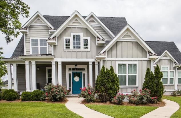 房屋建筑商的股票今天飙升