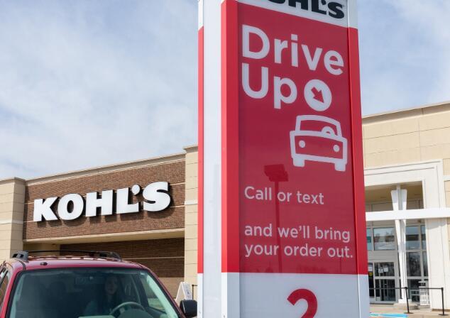Kohl的报告称销售量大幅下降但电子商务增长