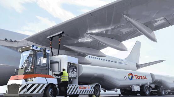 道达尔研发电动飞机加油车