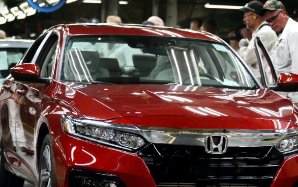 福特通用汽车和本田的股票今天上涨