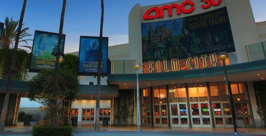 随着上周末当前局势病例增加电影院的股票下跌