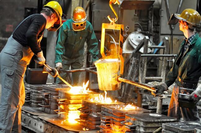 钢铁制造商纽柯的股价从低点上涨了30%
