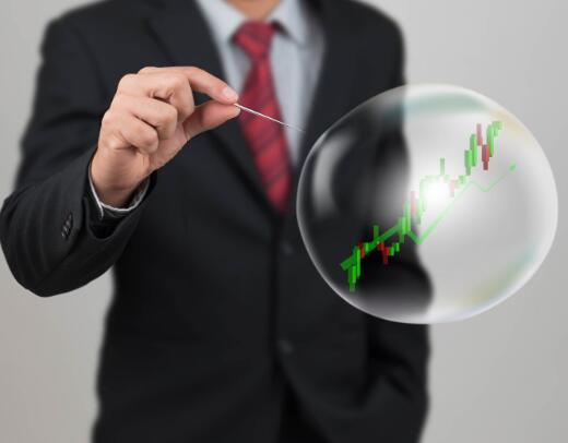 在下一次市场崩盘中可能会爆发的2种股票泡沫