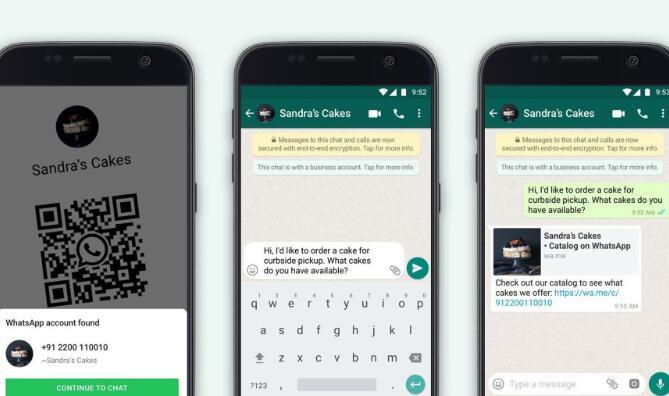 WhatsApp的业务应用程序具有巨大潜力